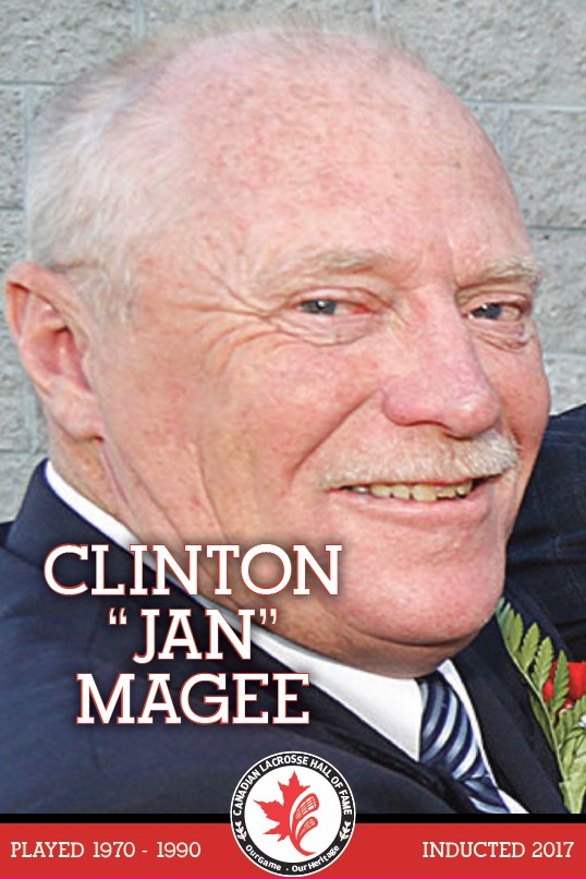 Clinton Jan Magee - CLHoF